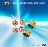Le constructeur professionnel fournissent la noix de cuivre de garniture intérieure de rupture de matériau