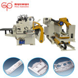 La máquina serva de la enderezadora del Nc hace introducir del material (MAC4-1000F)