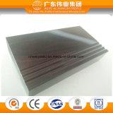 Profilo di alluminio di colore di legno per la fabbrica del principale 10 della Cina della finestra e del portello
