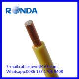 Fio elétrico contínuo 4 SQMM do PVC da BV