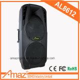 '' altofalante 12 dobro com o cartão ácido da bateria/Bluetooth/USB/SD/TF/transmissão da voz/Mic Jack/guitarra Jack