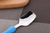 Edelstahl-Tischbesteck für Kinder mit Plastikgriff einschließlich Löffel und Gabel