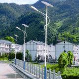 lumière de 150-160lm/W DEL Steet pour appliqué solaire dans plus de 80 Contries