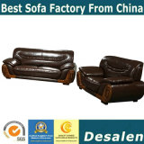 Clouded Exporting Home Furniture Leather Sofa (2109)