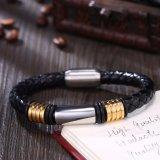 Edelstahl-Mann-Magnet-Armband-magnetisches Faltenbildung-Mann-Armband