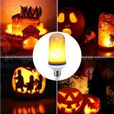 Fuoco dinamico di simulazione della lampadina 110V 220V E27 del cereale di effetto LED della fiamma