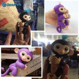 2017마리의 다채로운 작은 물고기 원숭이 아이를 위한 전자 애완 동물 핑거 원숭이 크리스마스 선물