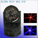 [30وإكس6] [لد] مصغّرة نحلة عين حزمة موجية ضوء متحرّك رئيسيّة