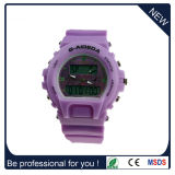 Nouvelle mode Hot Sale double mouvement montre de sport en plastique