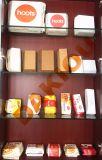 브라운 Kraft 음식 종이는 상자, 서류상 음식 들통 기계를 밖으로 취한다
