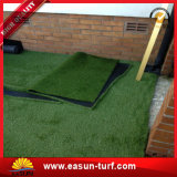صاحب مصنع ذهبيّة اصطناعيّة عشب مرج يرتّب عشب اصطناعيّة لأنّ حديقة