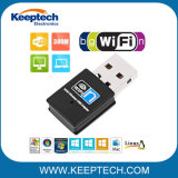 Adaptador WiFi sem fio Mini USB 300m portátil USB da placa de rede USB 2.0 Adaptador Receptor WiFi