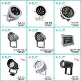 16W Foco LED redonda de plata con el informe de la Ce