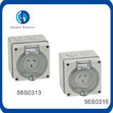 Непосредственно на заводе питания Австралия одна фаза 3 плоские контактный разъем IP66 10A 13A 15A 250 В