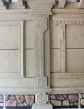 De externe EPS van de Muur Decoratieve Basis van /Coloum van de Kolom