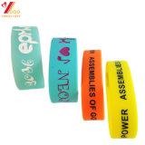 Wristband su ordinazione del silicone di qualità di Hight, elastico per le decorazioni del regalo di promozione (YB-WT-5)