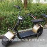 самокат Citycoco 60V 1000W Harley с легким отделяемым блоком батарей