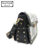 十字ボディPUのハンドバッグ