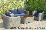 عمليّة بيع حارّ خارجيّ [رتّن] ثبت أريكة مع وسادة