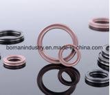 La gomma di NBR sigilla As568 l'anello di gomma standard dell'X-Anello FPM X