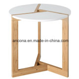 중국 자연적인 단단한 대나무 원탁