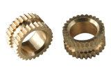 Pièces de rotation de filetage de sablage de la qualité 0.01mm d'aluminium fait sur commande à extrémité élevé de tolérance