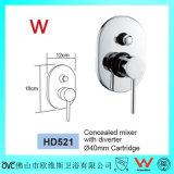 Le filigrane a reconnu dans le robinet en laiton de douche de salle de bains de mur (HD521)
