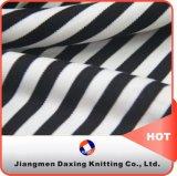 Dxh1346-2 지류 줄무늬 스판덱스 내부고정기 뜨개질을 하는 직물