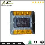 사려깊은 4개의 LEDs 구슬 주물 포장 도로 알루미늄 태양 도로 장식 못