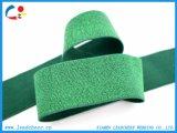 Sangle élastique de polyester personnalisée par vert d'usine pour le sofa large