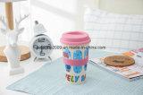 tazza amichevole del latte del caffè della fibra della paglia del frumento di 400ml Eco