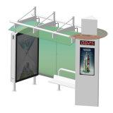 Neue Entwurfs-Straßen-Möbel, die Digital-Bushaltestelle-Schutz bekanntmachen
