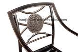 Patio extérieur / jardin ///en aluminium moulé Chaise en rotin HS3185c
