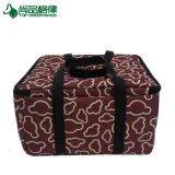 La consegna personalizzata dell'alimento isolata trasporta il sacchetto Heated promozionale della pizza del sacchetto
