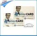 Tarjeta en blanco del PVC/tarjeta plástica del PVC