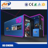 광저우 Mantong 공장 사치품은 판매를 위한 4/6/8/9/12의 의자 5D 영화관 시뮬레이터에 자리를 준다