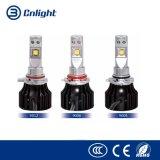 8000lm 70W por séries do diodo emissor de luz G do farol do jogo H1 H3 H4 H7 H9 H11 do farol do diodo emissor de luz dos pares auto com diodo emissor de luz do CREE