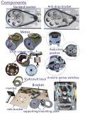 Motore industriale del lato dell'otturatore del rullo del magazzino con la catena manuale