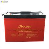 Batterij van het Gel van de Cyclus van Cspower de Diepe, Mariene Batterij 12V 100ah