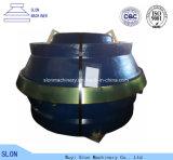 Manteau de pièces de rechange de broyeur de cône de Sandvik CS820 de qualité et concave