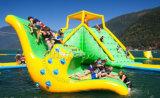 Используемый парк коммерчески взрослый раздувной платформы воды акватический плавая