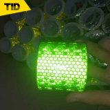 PVC反射テープ蜜蜂の巣の格子反射フィルム