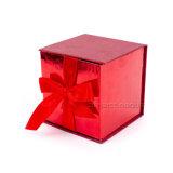 Картонная коробка лидирующего золота упаковывая для стеклянной чашки