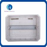 Caixa de distribuição terminal da combinação, MCB que ilumina a placa de distribuição elétrica