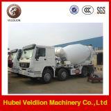 Tanque do misturador do caminhão 8m3 do misturador de HOWO 6X4