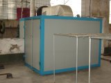 Automatische Puder-Beschichtungsanlage mit Trockner und aushärten Ofen