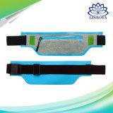 Impermeabilizzare il sacchetto corrente della vita della cinghia della corsa di Lycra di esercitazione di sport di nylon ultra sottile di forma fisica