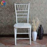 Empilar la silla de acero de Tiffany Chiavari de la boda del banquete del hotel del hierro de aluminio