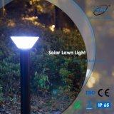 Solarrasen-Lampe des Gussaluminium-LED für Garten