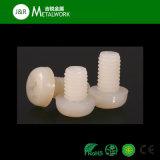 Qualitäts-quere weiße Plastikrunde Hauptnylonschraube